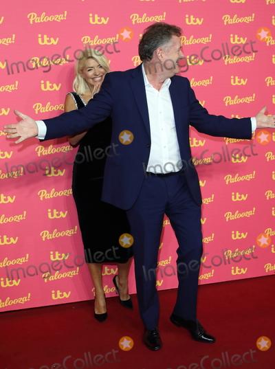 Hollies Photo - London UK Holly Willoughby and Piers Morgan at ITV Palooza 2019 at the Royal Festival Hall South Bank London on November 12th 2019Ref LMK73-J5781-131119Keith MayhewLandmark MediaWWWLMKMEDIACOM