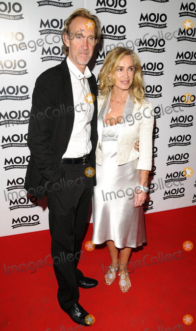 Mike Rutherford Photo - London UK Mike Rutherford and wife Angie at the Mojo Honours List Awards held at Old Truman Brewery in London UK 16th June 2008Can NguyenLandmark Media