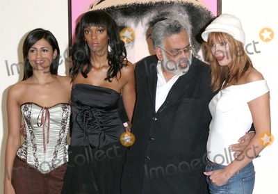 Aruna Shields Photo - London Aruna Shields Judi Shekoni Jag Mundhra Catalina Guirado at the Private Moments photocall at the Apart Gallery13 December 2004Paulo PirezLandmark Media