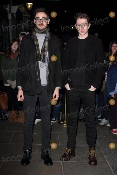 Alt J Photo - London UK Alt-J arriving at the Brit Awards 2013 Nominations Launch at the Savoy Hotel The Strand London January 10th 2013Keith MayhewLandmark Media
