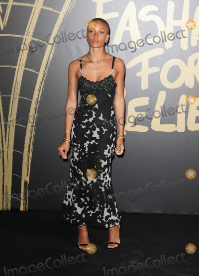 Adwoa Aboah Photo - London UK Adwoa Aboah  at Spring Summer 2020  Naomi Campbells Fashion For Relief Red Carpet Arrivals at the British Museum London Fashion Week 14th September  2019RefLMK73-2350-150919Keith MayhewLandmark Media WWWLMKMEDIACOM