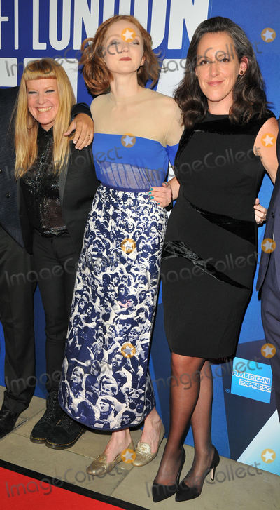 Andrea Arnold Photo - London UK Andrea Arnold Lily Cole and Emma Thomas at the 61st BFI London Film Festival Awards 2017 Banqueting House Whitehall London England UK on Saturday 14 October 2017Ref LMK315-J925-161017CAN NguyenLandmark MediaWWWLMKMEDIACOM