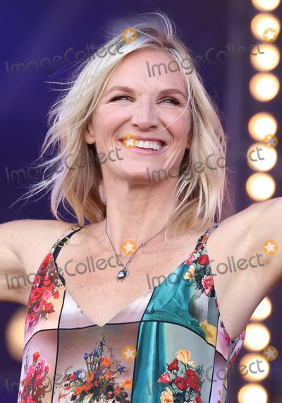 Jo Whiley Photo - London UK Jo Whiley at BBC Radio 2 in Hyde Park London on Sunday 9th September 2018Ref LMK73-J2576-100918Keith MayhewLandmark MediaWWWLMKMEDIACOM
