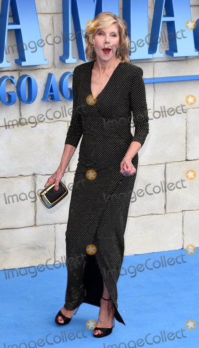 Christine Baranski Photo - London UK  Christine Baranski at The World Premiere of Mamma Mia Here We Go Again held at Eventim Apollo Hammersmith on Monday 16 July 2018Ref LMK392-J2320-170718Vivienne VincentLandmark Media WWWLMKMEDIACOM