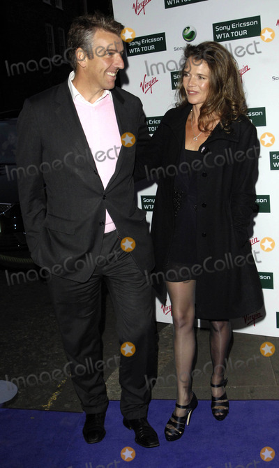 Annabel Croft Photo - London UK  Annabelle Croft and guest at the Ralph Lauren Sony Ericsson WTA Tour Pre-Wimbledon Party held at The Roof Gardens in Kensington18 June 2009Ref  Chris JosephLandmark Media