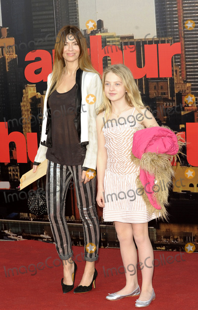 Anais Gallagher Photo - London UK Sara McDonald and Anais Gallagher at the European premiere of Arthur at Cineworld 02 Arena 19th April 2011SydLandmark Media
