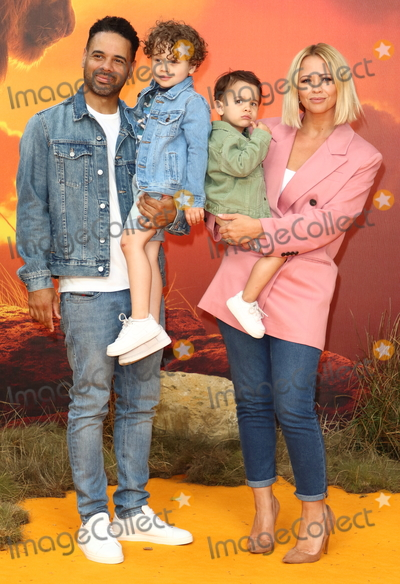Kimberley Walsh Photo - London UK Kimberley Walsh and family at European Premiere of Disneys The Lion King at the Odeon Luxe cinema Leicester Square London on July 14th 2019Ref LMK73-J5182-150719Keith MayhewLandmark MediaWWWLMKMEDIACOM