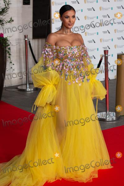 Maya Jama Photo - London UK Maya Jama  at  the EE British Academy Film Awards 2020 after party dinner -arrivals  at The Grosvenor Hotel on February 02 2020 in London EnglandRef  LMK399 -J6089-030220Robin Pope  Landmark Media WWWLMKMEDIACOM