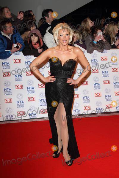 Faye Tozer Photo - London UK 230113Faye Tozer at the National Television Awards held at the O2 Arena in London23 January 2013Keith MayhewLandmark Media
