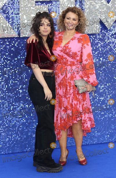 Nadia Sawalha Photo - London UK Nadia Sawalha at UK Premiere of Rocketman at the Odeon Luxe Leicester Square London on May 20th 2019 Ref LMK73-J4907-210519Keith MayhewLandmark MediaWWWLMKMEDIACOM Kelly Osbourne and Jimmy Q