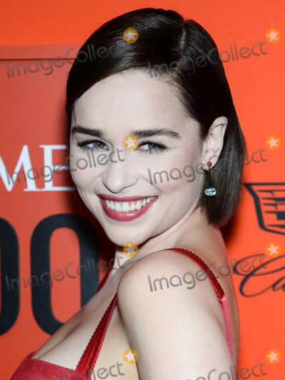 Dolce and Gabbana Photo - MANHATTAN NEW YORK CITY NEW YORK USA - APRIL 23 Actress Emilia Clarke wearing Dolce and Gabbana arrives at the 2019 Time 100 Gala held at the Frederick P Rose Hall at Jazz At Lincoln Center on April 23 2019 in Manhattan New York City New York United States (Photo by Image Press Agency)