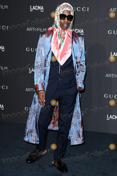 ASAP Rocky Photo - LOS ANGELES CA USA - NOVEMBER 03 AAP Rocky ASAP Rocky Rakim Mayers at the 2018 LACMA Art  Film Gala held at the Los Angeles County Museum of Art on November 3 2018 in Los Angeles California United States (Photo by Xavier CollinImage Press Agency)
