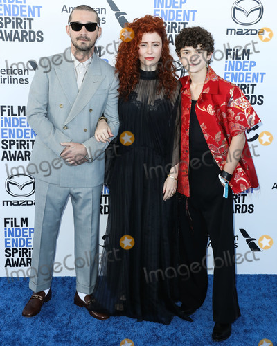 Alma Harel Photo - SANTA MONICA LOS ANGELES CALIFORNIA USA - FEBRUARY 08 Shia LaBeouf Alma Harel and Noah Jupe arrive at the 2020 Film Independent Spirit Awards held at the Santa Monica Beach on February 8 2020 in Santa Monica Los Angeles California United States (Photo by Xavier CollinImage Press Agency)