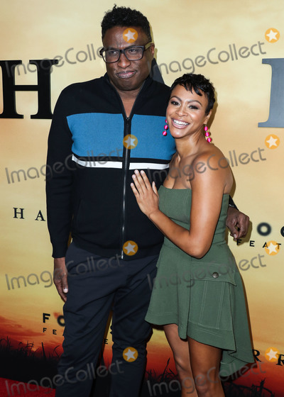Leon Photo - LOS ANGELES CALIFORNIA USA - OCTOBER 29 Michael-Leon Wooley and Carly Hughes arrive at the Los Angeles Premiere Of Focus Features Harriet held at The Orpheum Theatre on October 29 2019 in Los Angeles California United States (Photo by Xavier CollinImage Press Agency)