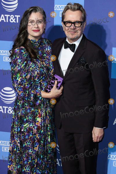 Giselle Photo - PALM SPRINGS CA USA - JANUARY 03 Gisele Schmidt and husbandactor Gary Oldman arrive at the 30th Annual Palm Springs International Film Festival Awards Gala held at the Palm Springs Convention Center on January 3 2019 in Palm Springs California United States (Photo by Xavier CollinImage Press Agency)