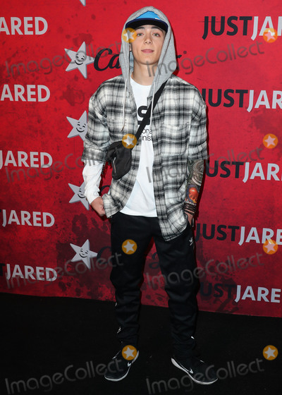 Asher Angel Photo - HOLLYWOOD LOS ANGELES CA USA - OCTOBER 27 Asher Angel at Just Jareds 7th Annual Halloween Party held at Goya Studios on October 27 2018 in Hollywood Los Angeles California United States (Photo by Xavier CollinImage Press Agency)