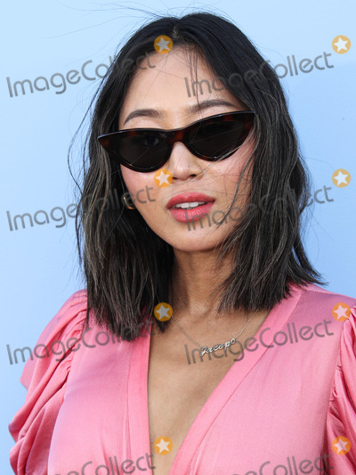 Aimee Song Photo - BROOKLYN NEW YORK CITY NEW YORK USA - SEPTEMBER 11 Aimee Song arrives at the Michael Kors Collection Spring 2020 Runway Show during New York Fashion Week The Shows held at Duggal Greenhouse on September 11 2019 in Brooklyn New York City New York United States (Photo by Xavier CollinImage Press Agency)