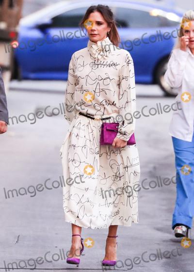 Victoria Beckham Photo - HOLLYWOOD LOS ANGELES CALIFORNIA USA - NOVEMBER 19 Victoria Beckham seen at Jimmy Kimmel Live on November 19 2019 in Hollywood Los Angeles California United States (Photo by Xavier CollinImage Press Agency)