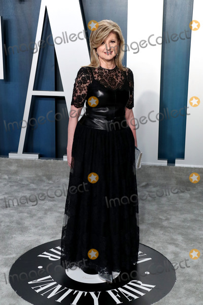 Arianna Huffington Photo - BEVERLY HILLS LOS ANGELES CALIFORNIA USA - FEBRUARY 09 Arianna Huffington arrives at the 2020 Vanity Fair Oscar Party held at the Wallis Annenberg Center for the Performing Arts on February 9 2020 in Beverly Hills Los Angeles California United States (Photo by Xavier CollinImage Press Agency)