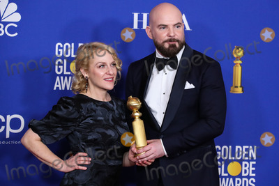 Arianne Sutner Photo - BEVERLY HILLS LOS ANGELES CALIFORNIA USA - JANUARY 05 Arianne Sutner and Chris Butler pose in the press room at the 77th Annual Golden Globe Awards held at The Beverly Hilton Hotel on January 5 2020 in Beverly Hills Los Angeles California United States (Photo by Xavier CollinImage Press Agency)