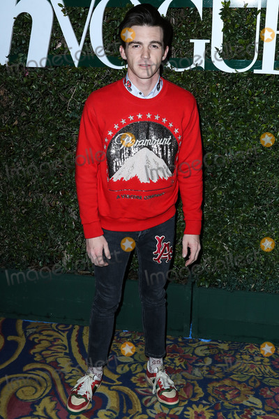 Drake Bell Photo - LOS ANGELES CA USA - FEBRUARY 15 Actor Drake Bell arrives at Teen Vogues 2019 Young Hollywood Party Presented By Snap held at the Los Angeles Theatre on February 15 2019 in Los Angeles California United States (Photo by Xavier CollinImage Press Agency)