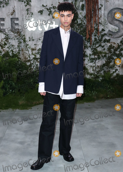 Archie Madekwe Photo - WESTWOOD LOS ANGELES CALIFORNIA USA - OCTOBER 21 Actor Archie Madekwe arrives at the World Premiere Of Apple TVs See held at the Fox Village Theater on October 21 2019 in Westwood Los Angeles California United States (Photo by Xavier CollinImage Press Agency)