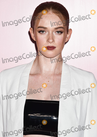 Larsen Thompson Photo - LOS ANGELES CALIFORNIA USA - APRIL 04 Actress Larsen Thompson arrives at the Launch Of Patrick Tas Beauty Collection held at Goya Studios on April 4 2019 in Los Angeles California United States (Photo by Image Press Agency)