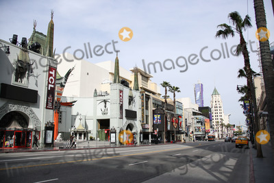 Eric Garcetti Photo - HOLLYWOOD LOS ANGELES CALIFORNIA USA - MARCH 31 A view of the TCL Chinese Theatre IMAX Dolby Theatre and Hollywood Blvd Walk Of Fame on March 31 2020 in Hollywood Los Angeles California United States Los Angeles tourism and entertainment industry businesses are temporarily closed amid the coronavirus COVID-19 pandemic after the Safer at Home order issued by both Los Angeles Mayor Eric Garcetti at the county level and California Governor Gavin Newsom at the state level on Thursday March 19 2020 which will stay in effect until at least April 19 2020 (Photo by Xavier CollinImage Press Agency)