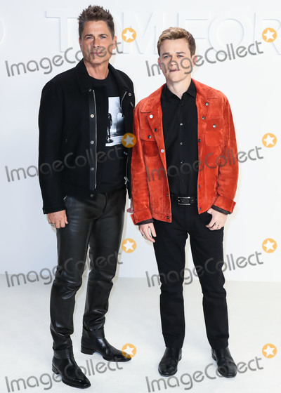 Rob Lowe Photo - HOLLYWOOD LOS ANGELES CALIFORNIA USA - FEBRUARY 07 Rob Lowe and John Owen Lowe arrive at the Tom Ford AutumnWinter 2020 Fashion Show held at Milk Studios on February 7 2020 in Hollywood Los Angeles California United States (Photo by Xavier CollinImage Press Agency)