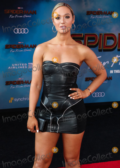 Alisha Marie Photo - HOLLYWOOD LOS ANGELES CALIFORNIA USA - JUNE 26 Alisha Marie arrives at the Los Angeles Premiere Of Sony Pictures Spider-Man Far From Home held at the TCL Chinese Theatre IMAX on June 26 2019 in Hollywood Los Angeles California United States (Photo by Xavier CollinImage Press Agency)