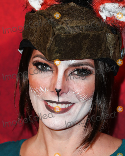 ASHLEY GREEN Photo - HOLLYWOOD LOS ANGELES CA USA - OCTOBER 27 Ashley Greene at Just Jareds 7th Annual Halloween Party held at Goya Studios on October 27 2018 in Hollywood Los Angeles California United States (Photo by Xavier CollinImage Press Agency)
