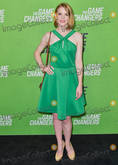 Ashley Bell Photo - HOLLYWOOD LOS ANGELES CALIFORNIA USA - SEPTEMBER 05 Ashley Bell arrives at the Los Angeles Premiere Of The Game Changers held at ArcLight Cinemas Hollywood on September 5 2019 in Hollywood Los Angeles California United States (Photo by Image Press Agency)