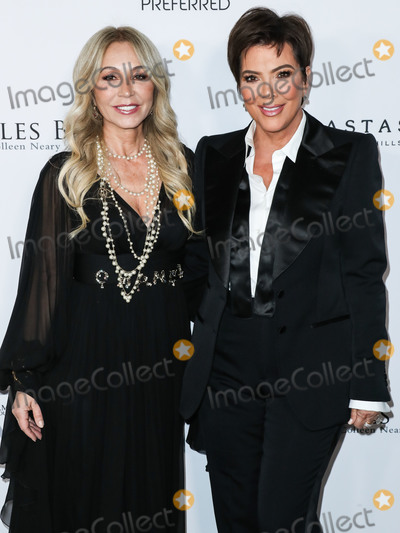 Edythe Broad Photo - SANTA MONICA LOS ANGELES CALIFORNIA USA - FEBRUARY 28 Businesswoman Anastasia Soare and television personality Kris Jenner arrive at the Los Angeles Ballet Gala 2020 held at The Eli and Edythe Broad Stage at the Santa Monica College Performing Arts Center on February 28 2020 in Santa Monica Los Angeles California United States (Photo by Xavier CollinImage Press Agency)