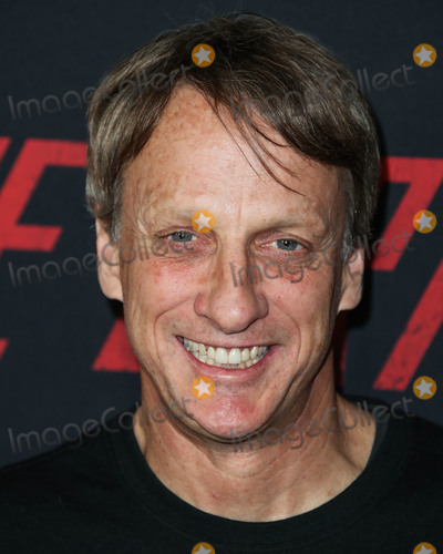 Tony Hawks Photo - HOLLYWOOD LOS ANGELES CA USA - MARCH 18 Skateboarder Tony Hawk arrives at the Los Angeles Premiere Of Netflixs The Dirt held at ArcLight Cinemas Hollywood on March 18 2019 in Hollywood Los Angeles California United States (Photo by Xavier CollinImage Press Agency)