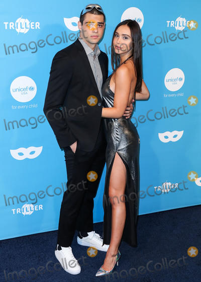 Noah Centineo Photo - (FILE) Noah Centineo And Alexis Ren Have Officially Broken Up According to multiple reports Alexis Ren and Noah Centineo have officially broken up The couple split a few weeks ago after being together for over a year WEST HOLLYWOOD LOS ANGELES CALIFORNIA USA - OCTOBER 26 Actor Noah Centineo and girlfriend Alexis Ren arrive at the 7th Annual UNICEF Masquerade Ball 2019 held at the Kimpton La Peer Hotel on October 26 2019 in West Hollywood Los Angeles California United States (Photo by Xavier CollinImage Press Agency)