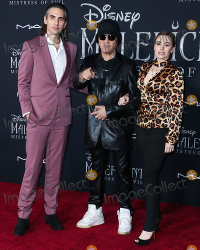 Gene Simmons Photo - HOLLYWOOD LOS ANGELES CALIFORNIA USA - SEPTEMBER 30 Nick Simmons Gene Simmons and Sophie Simmons arrive at the World Premiere Of Disneys Maleficent Mistress Of Evil held at the El Capitan Theatre on September 30 2019 in Hollywood Los Angeles California United States (Photo by Xavier CollinImage Press Agency)