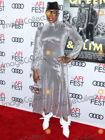 Aisha Hinds Photo - HOLLYWOOD LOS ANGELES CALIFORNIA USA - NOVEMBER 14 Aisha Hinds arrives at the AFI FEST 2019 - Opening Night Gala - Premiere Of Universal Pictures Queen And Slim held at the TCL Chinese Theatre IMAX on November 14 2019 in Hollywood Los Angeles California United States (Photo by Xavier CollinImage Press Agency)