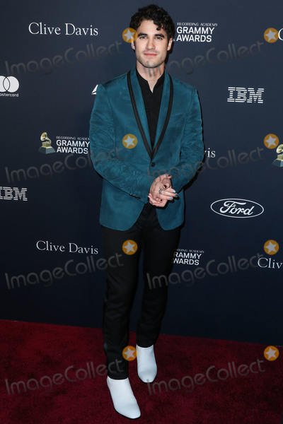 Darren Criss Photo - BEVERLY HILLS LOS ANGELES CALIFORNIA USA - JANUARY 25 Darren Criss arrives at The Recording Academy And Clive Davis 2020 Pre-GRAMMY Gala held at The Beverly Hilton Hotel on January 25 2020 in Beverly Hills Los Angeles California United States (Photo by Xavier CollinImage Press Agency)