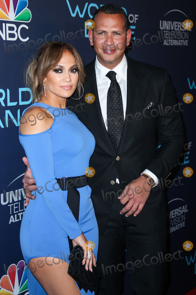 JENNIFER LOPEZ Photo - (FILE) Jennifer Lopez and Alex Rodriguez Retain JPMorgan to Raise Money for Mets Bid Retired baseball star Alex Rodriguez and his fiance recording artist and actor Jennifer Lopez have retained JPMorgan Chase to raise capital for a possible bid on the New York Mets people familiar with the matter said WEST HOLLYWOOD LOS ANGELES CALIFORNIA USA - SEPTEMBER 19 Singeractress Jennifer Lopez and boyfriendAmerican retired Baseball shortstop Alexander Rodriguez arrive at NBCs World Of Dance Celebration held at Delilah on September 19 2017 in West Hollywood Los Angeles California United States (Photo by Xavier CollinImage Press Agency)