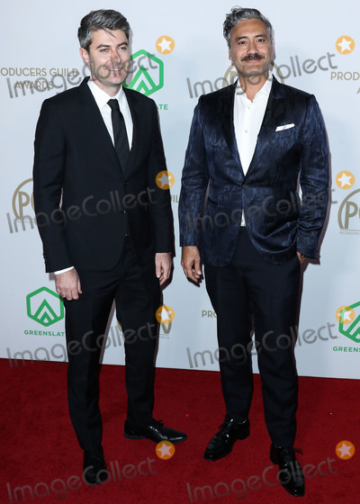 Carthew Neal Photo - HOLLYWOOD LOS ANGELES CALIFORNIA USA - JANUARY 18 Carthew Neal and Taika Waititi arrive at the 31st Annual Producers Guild Awards held at the Hollywood Palladium on January 18 2020 in Hollywood Los Angeles California United States (Photo by Xavier CollinImage Press Agency)