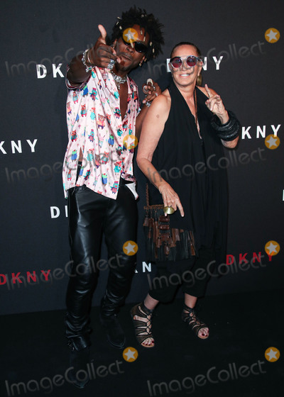 Saint JHN Photo - BROOKLYN NEW YORK CITY NEW YORK USA - SEPTEMBER 09 Saint Jhn and Donna Karan arrive at the DKNY 30th Birthday Party Celebration held at St Anns Warehouse on September 9 2019 in Brooklyn New York City New York United States (Photo by Xavier CollinImage Press Agency)