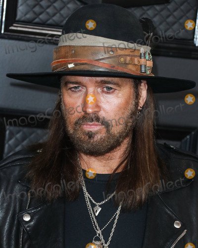 Billy Ray Cyrus Photo - LOS ANGELES CALIFORNIA USA - JANUARY 26 Billy Ray Cyrus arrives at the 62nd Annual GRAMMY Awards held at Staples Center on January 26 2020 in Los Angeles California United States (Photo by Xavier CollinImage Press Agency)