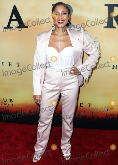 Amanda Seales Photo - LOS ANGELES CALIFORNIA USA - OCTOBER 29 Amanda Seales arrives at the Los Angeles Premiere Of Focus Features Harriet held at The Orpheum Theatre on October 29 2019 in Los Angeles California United States (Photo by Xavier CollinImage Press Agency)