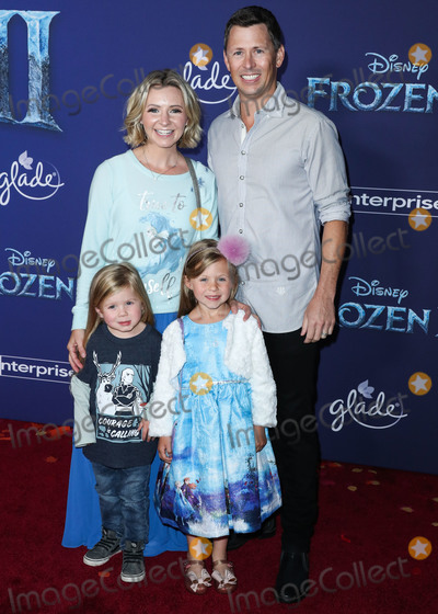 Beverley Mitchell Photo - HOLLYWOOD LOS ANGELES CALIFORNIA USA - NOVEMBER 07 Hutton Michael Cameron Beverley Mitchell Kenzie Cameron and Michael Cameron arrive at the World Premiere Of Disneys Frozen 2 held at the Dolby Theatre on November 7 2019 in Hollywood Los Angeles California United States (Photo by Xavier CollinImage Press Agency)