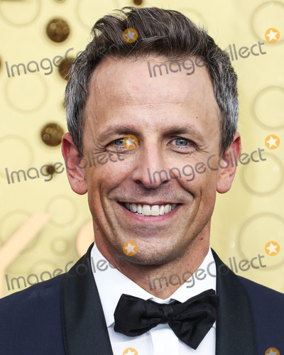 Seth Meyer Photo - LOS ANGELES CALIFORNIA USA - SEPTEMBER 22 Seth Meyers arrives at the 71st Annual Primetime Emmy Awards held at Microsoft Theater LA Live on September 22 2019 in Los Angeles California United States (Photo by Xavier CollinImage Press Agency)