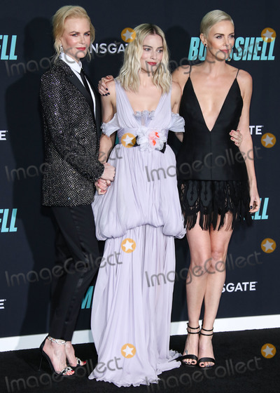 Margot Robbie Photo - WESTWOOD LOS ANGELES CALIFORNIA USA - DECEMBER 10 Actresses Nicole Kidman Margot Robbie and Charlize Theron arrive at the Los Angeles Special Screening Of Liongates Bombshell held at the Regency Village Theatre on December 10 2019 in Westwood Los Angeles California United States (Photo by Xavier CollinImage Press Agency)