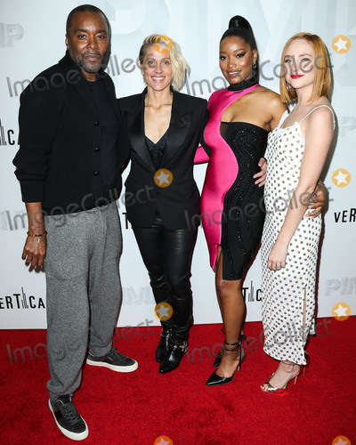 Haley Ramm Photo - LOS ANGELES CA USA - NOVEMBER 07 Lee Daniels Christine Crokos Keke Palmer Haley Ramm at the Los Angeles Premiere Of Vertical Entertainments Pimp held at Pacific Theatres at The Grove on November 7 2018 in Los Angeles California United States (Photo by Xavier CollinImage Press Agency)
