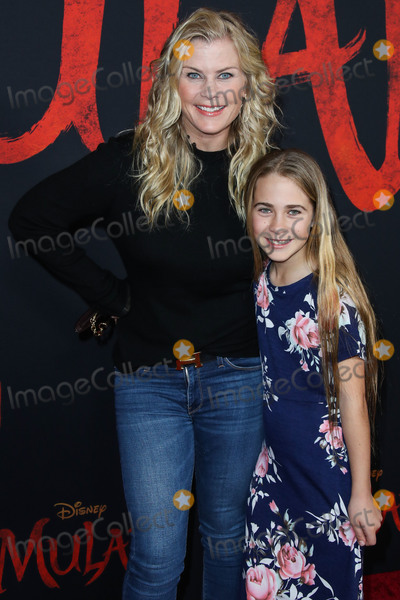 Alison Sweeney Photo - HOLLYWOOD LOS ANGELES CALIFORNIA USA - MARCH 09 Alison Sweeney and daughter Megan Sanov arrive at the World Premiere Of Disneys Mulan held at the El Capitan Theatre and Dolby Theatre on March 9 2020 in Hollywood Los Angeles California United States (Photo by Xavier CollinImage Press Agency)