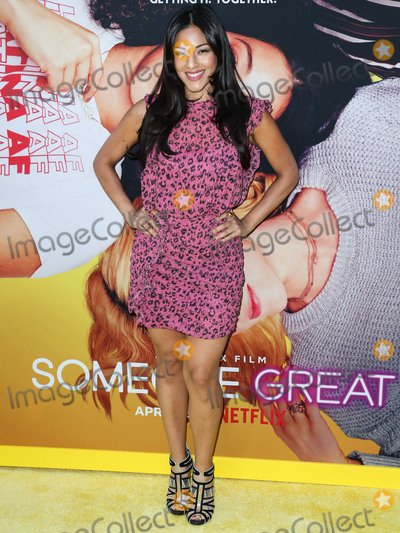 Tracy Perez Photo - HOLLYWOOD LOS ANGELES CALIFORNIA USA - APRIL 17 Actress Tracy Perez arrives at the Los Angeles Special Screening Of Netflixs Someone Great held at ArcLight Cinemas Hollywood on April 17 2019 in Hollywood Los Angeles California United States (Photo by Xavier CollinImage Press Agency)