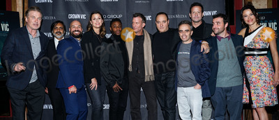 Thomas Jane Photo - MANHATTAN NEW YORK CITY NEW YORK USA - NOVEMBER 06 Alec Baldwin Anjul Nigam Alex Perez Bridget Moynahan Chris Jarell Thomas Jane Gregg Bello Joel Souza Josh Hopkins David Krumholtz and Scottie Thompson arrive at the New York Special Screening Of Screen Media Films Crown Vic held at the Village East Cinema on November 6 2019 in Manhattan New York City New York United States (Photo by William PerezImage Press Agency)